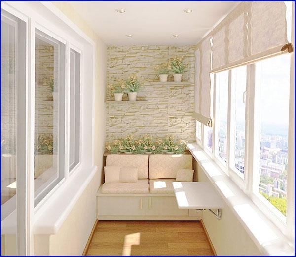 Отделка балконов Пластиковые окна
