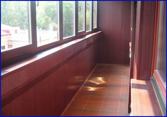 Обустройство полов балконов и лоджий Сургут
