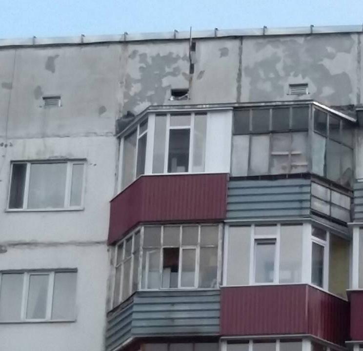 Остекление балконов Студенческая 11 После установки рамы