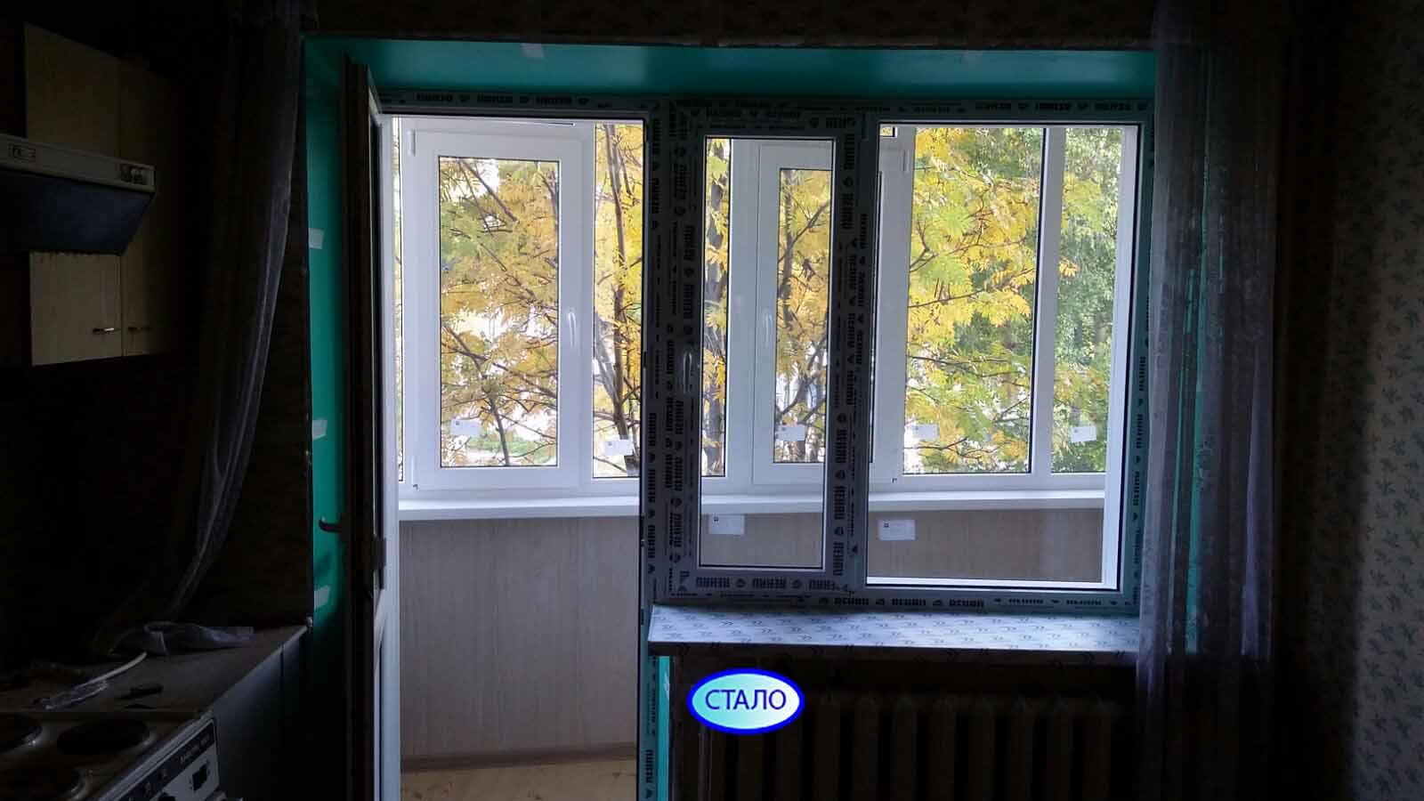ул. Энгельса 9 д. 1 Остекление и утепление балкона Фото 9