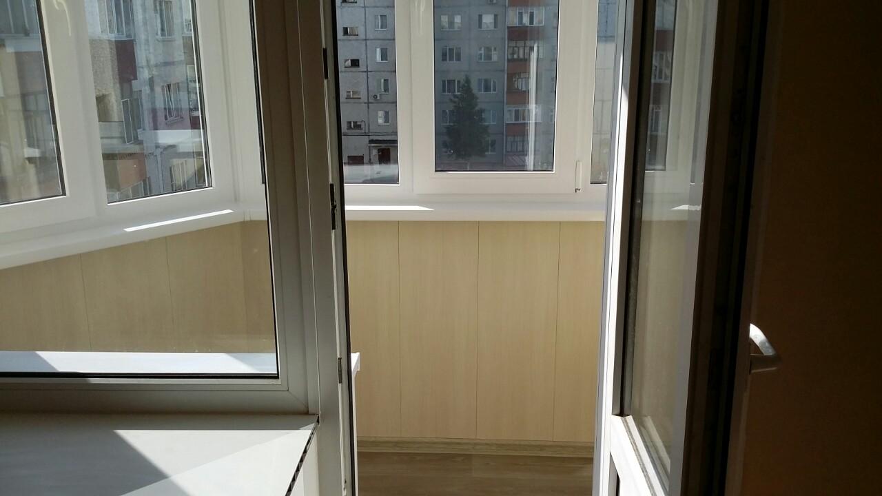 ул. Фёдорова д. 69 Остекление и утепление балкона Фото 6
