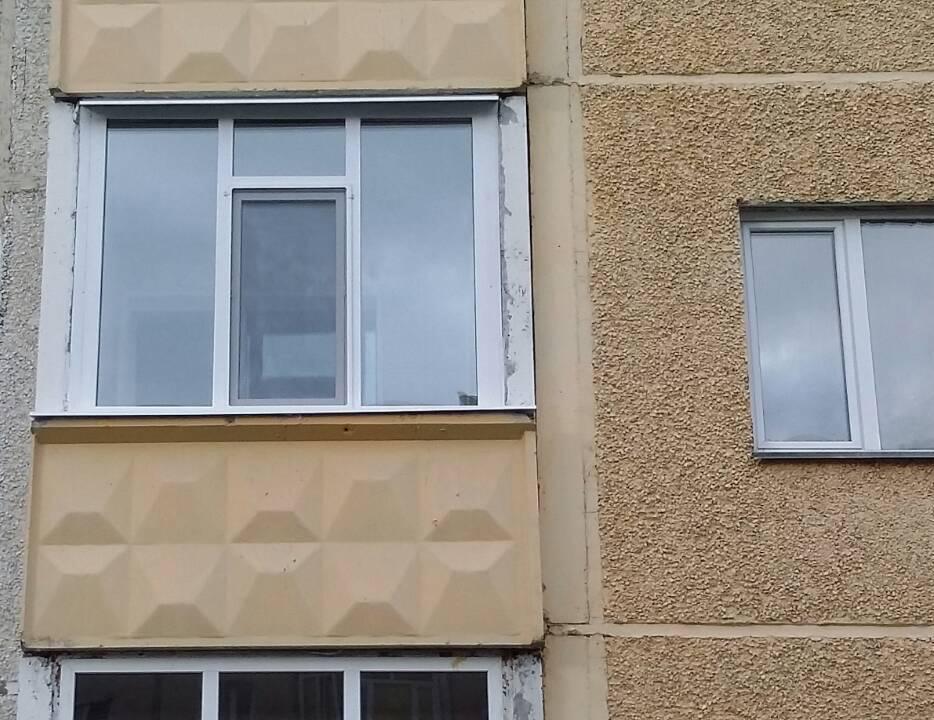 Остекление балкнов Пролетарский 10-2 Фото 1-1