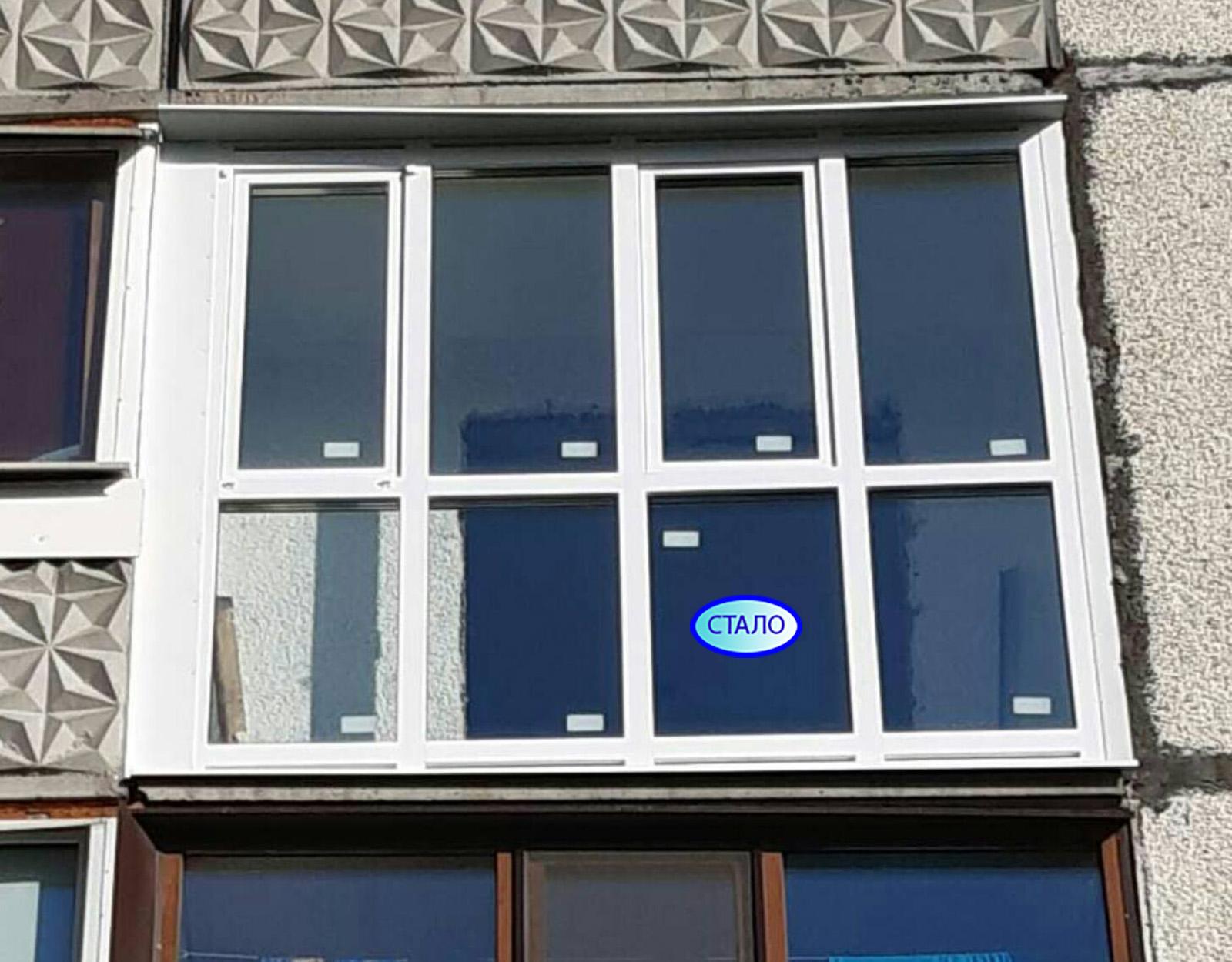 ул. Просвещения 39 Установка пластиковых окон на балконе Фото 2