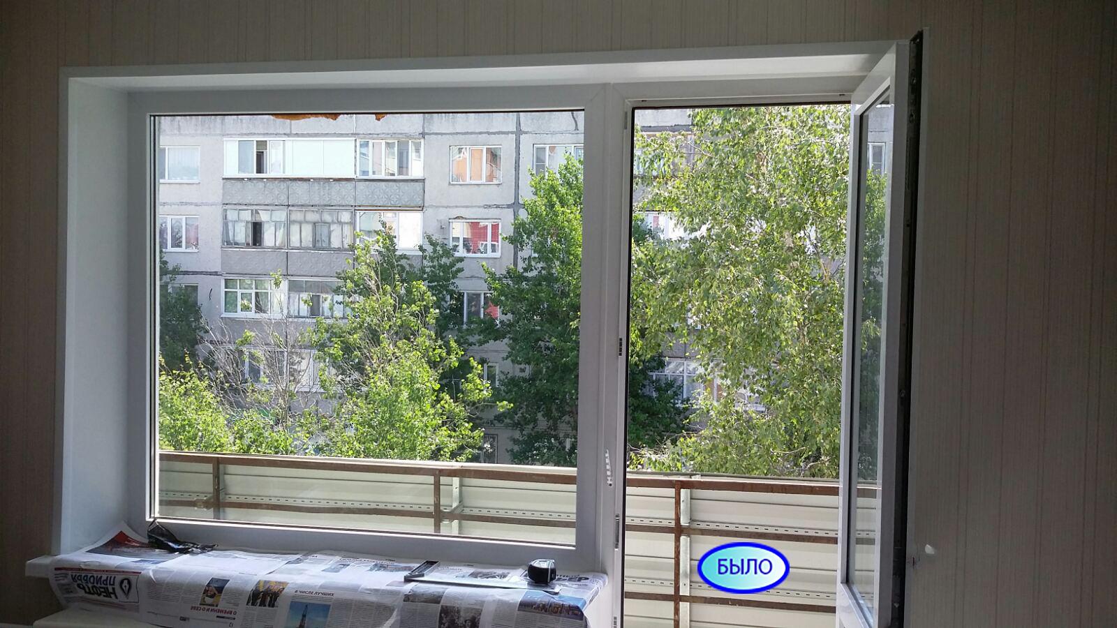 ул. Энергетиков 15 Установка пластиковых окон на балконе Фото 3