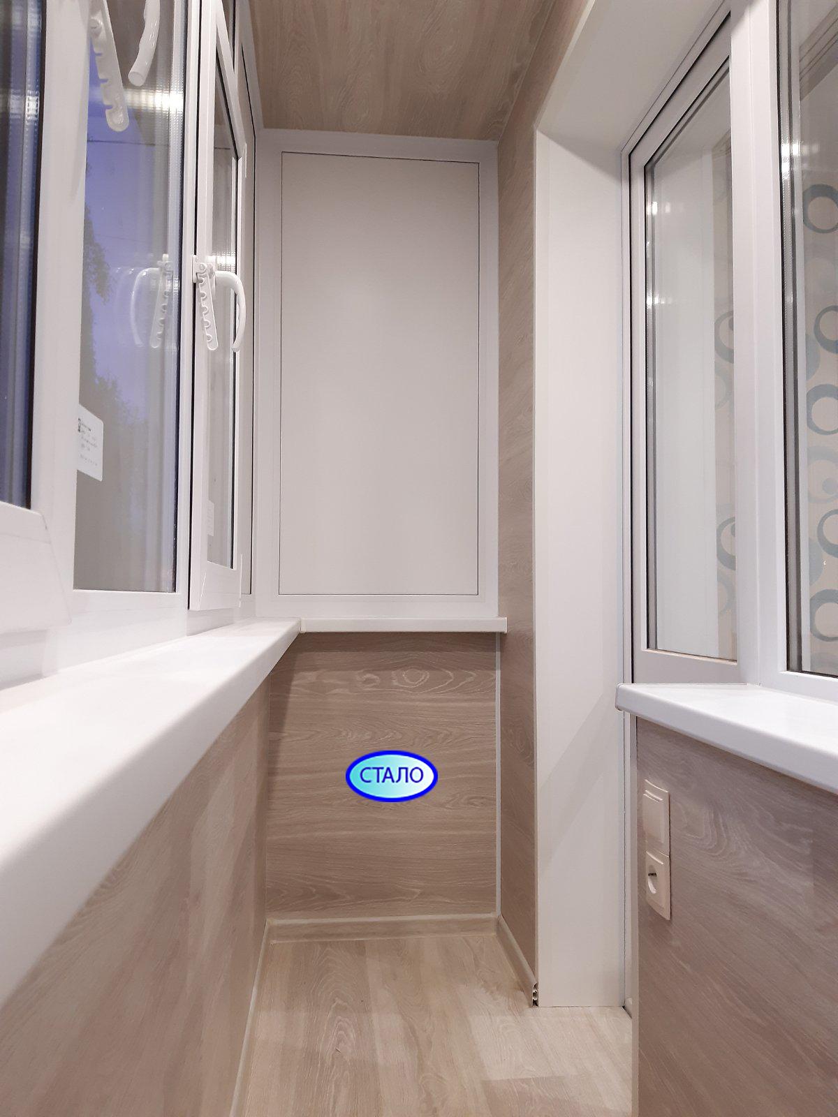 ул. Энергетиков 15 Установка пластиковых окон на балконе Фото 5