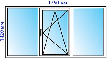 Окно 2-3