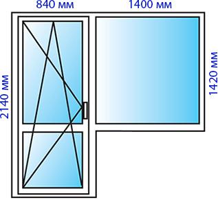 Окно 3-4-1