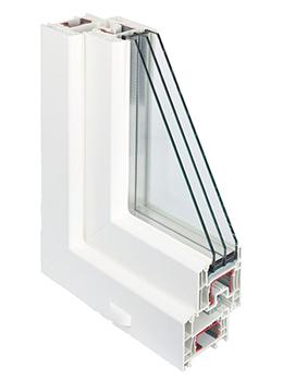 Пластиковые окна Rehau Intelio 80 Сургут