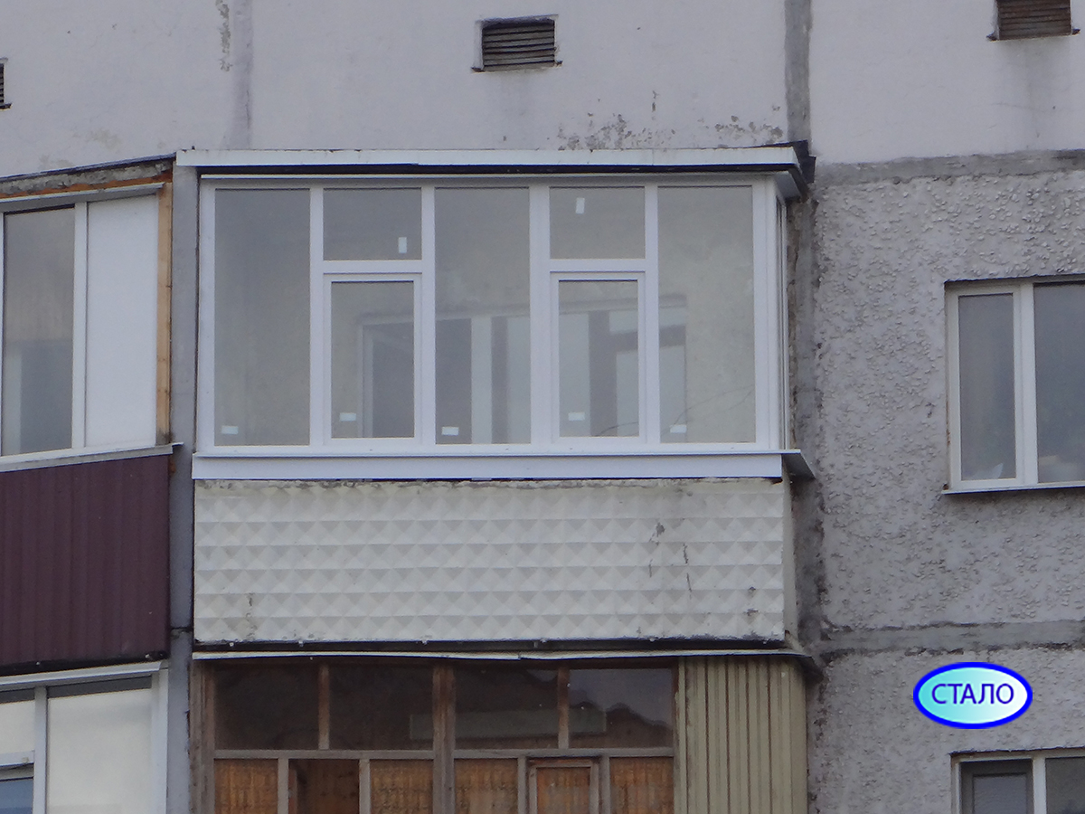 Пластиковые окна после установки Сургут ул. Ленина 56