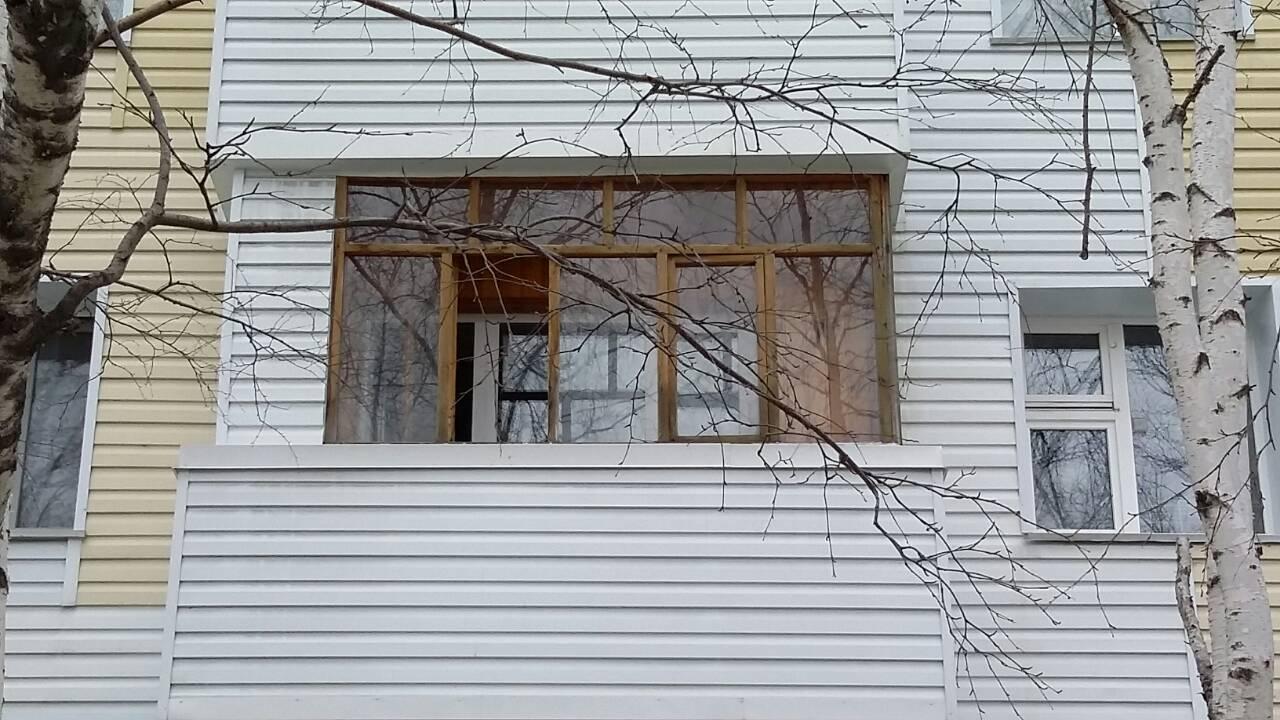 Пластиковые окна Сургут ул. Республики, дом 70 Старые окна