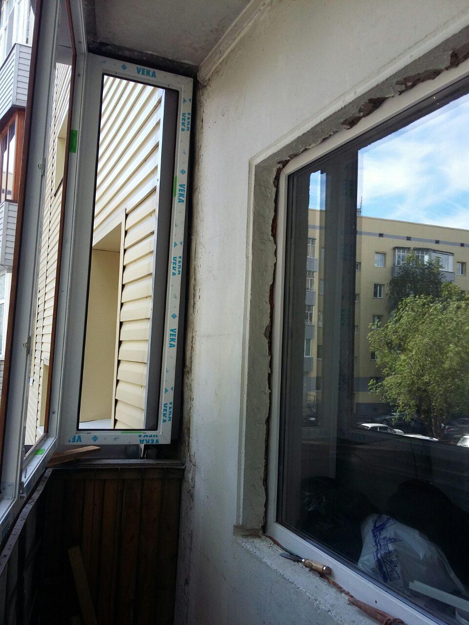 Остекление балкона Дзержинского 14а Фото 2