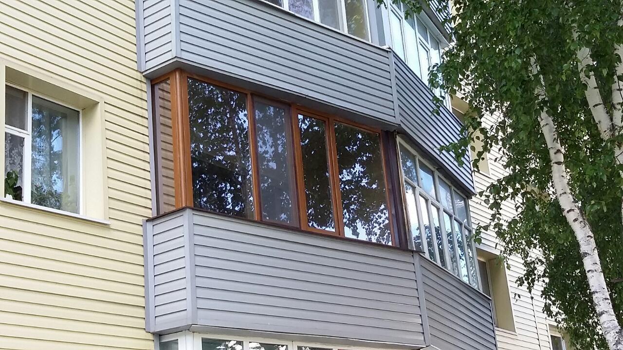 Остекление балкона Дзержинского 14а Фото 3