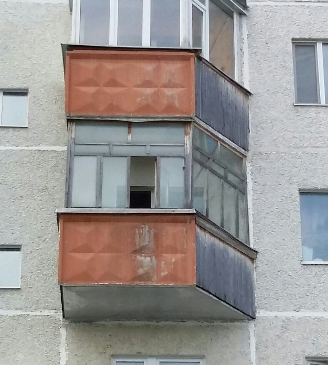 Остекление балкона ул. Мелик-Карамова дом 43 Фото 1