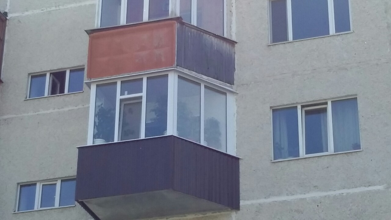 Остекление балкона ул. Мелик-Карамова дом 43 Фото 4