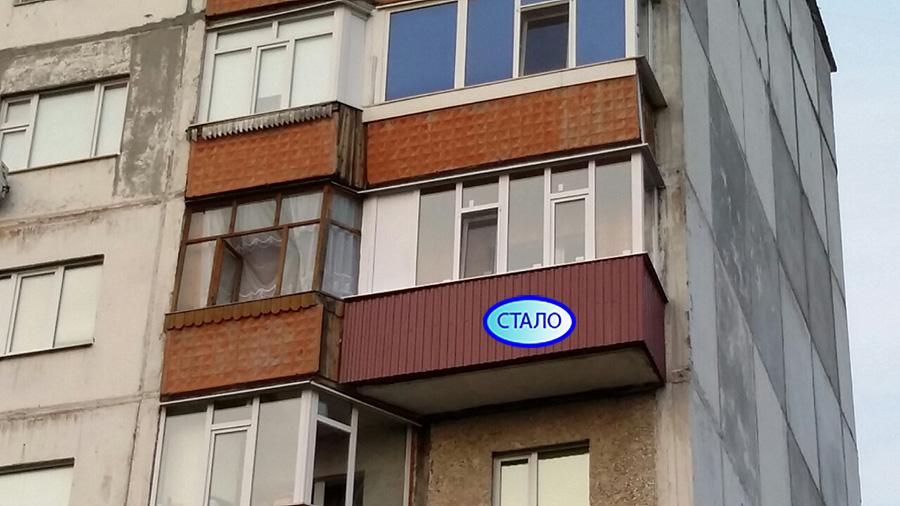 Остекление балкона пр Ленина 37/1 Балкон после ремонта