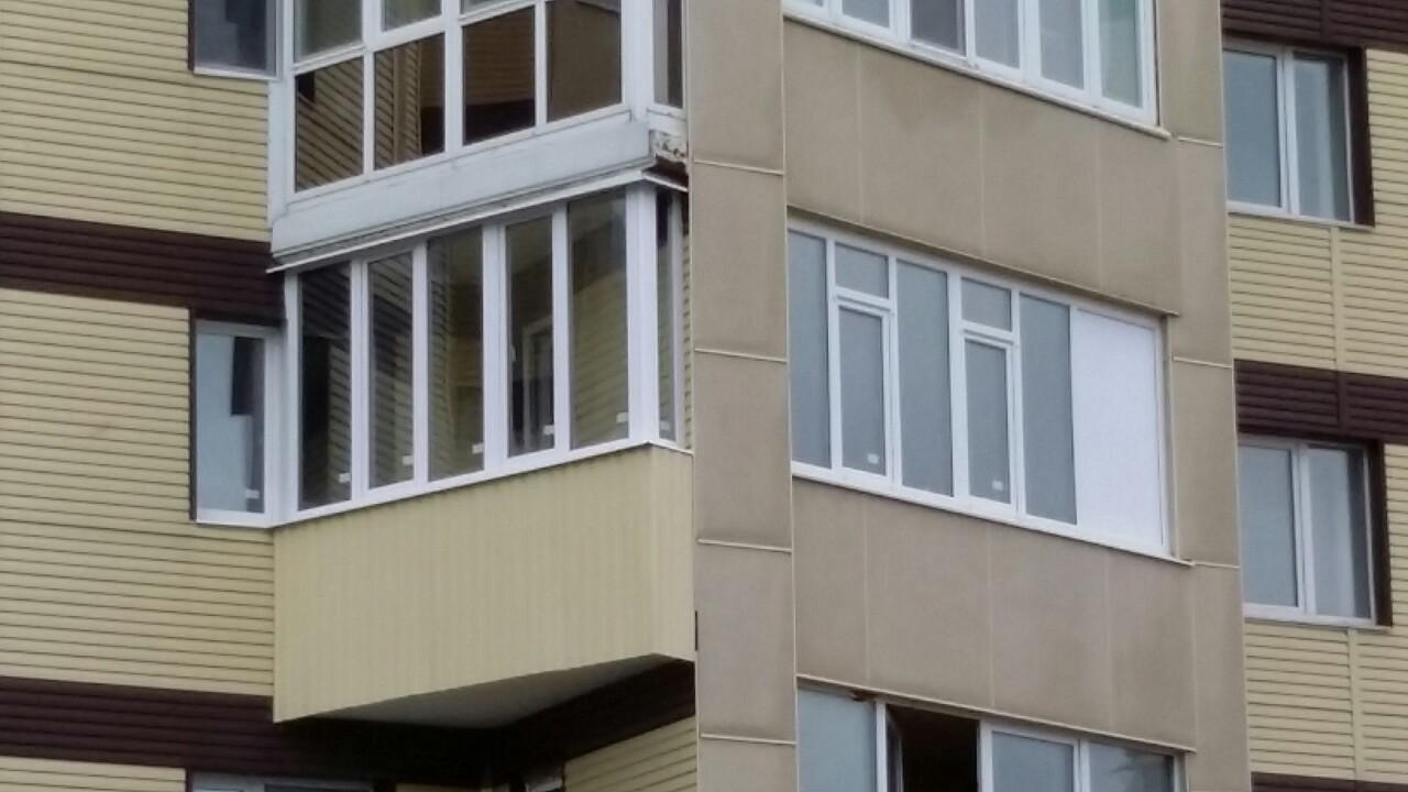 ул. Югорская д. 40 Остекление балкона